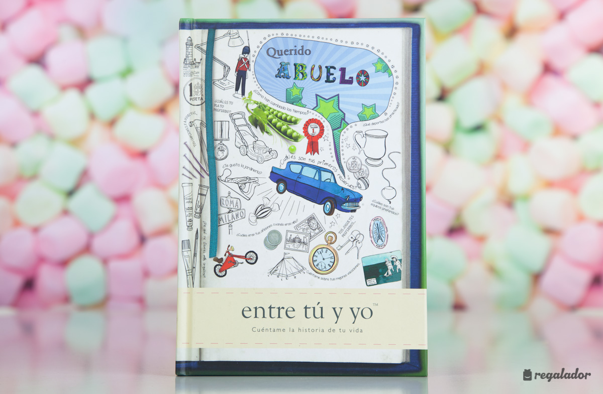 El libro personalizable para abuelos y nietos en Regalador.com
