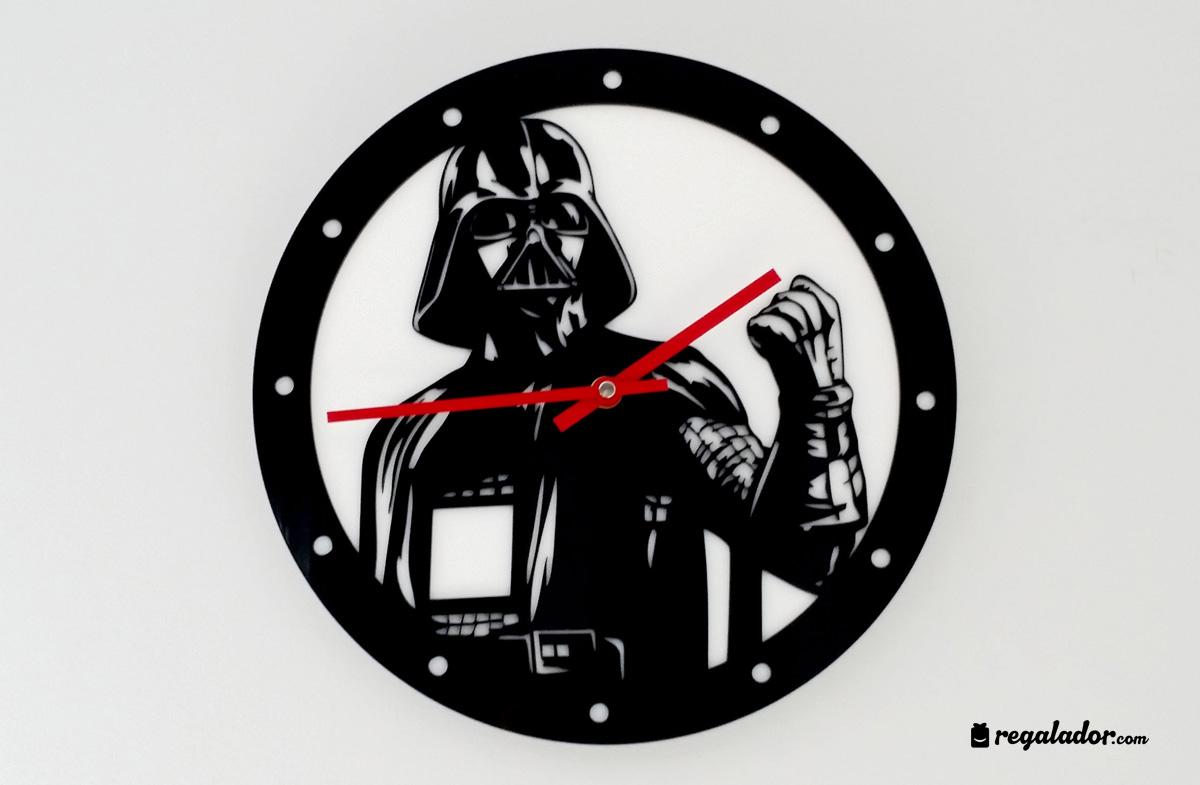 Relojes de pared para fans de Star Wars