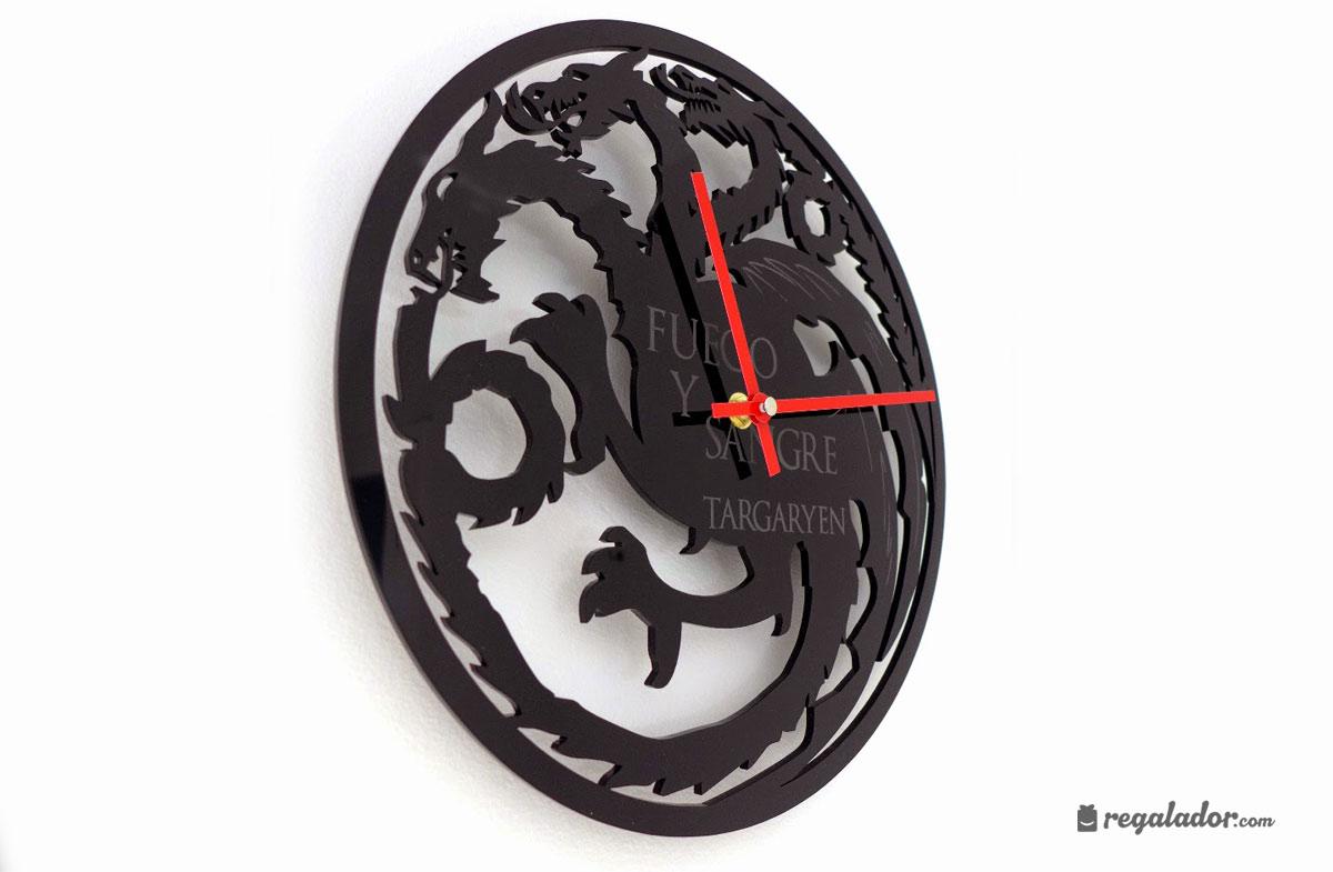 Relojes de pared para fans de juego de tronos en - Reloj decorativo de pared ...