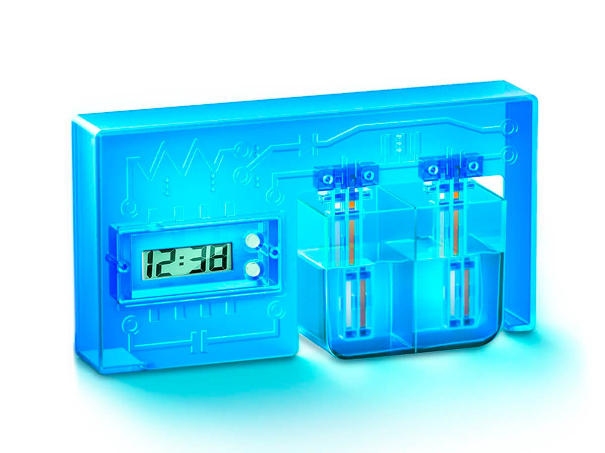 Reloj de agua, crea ciencia verde