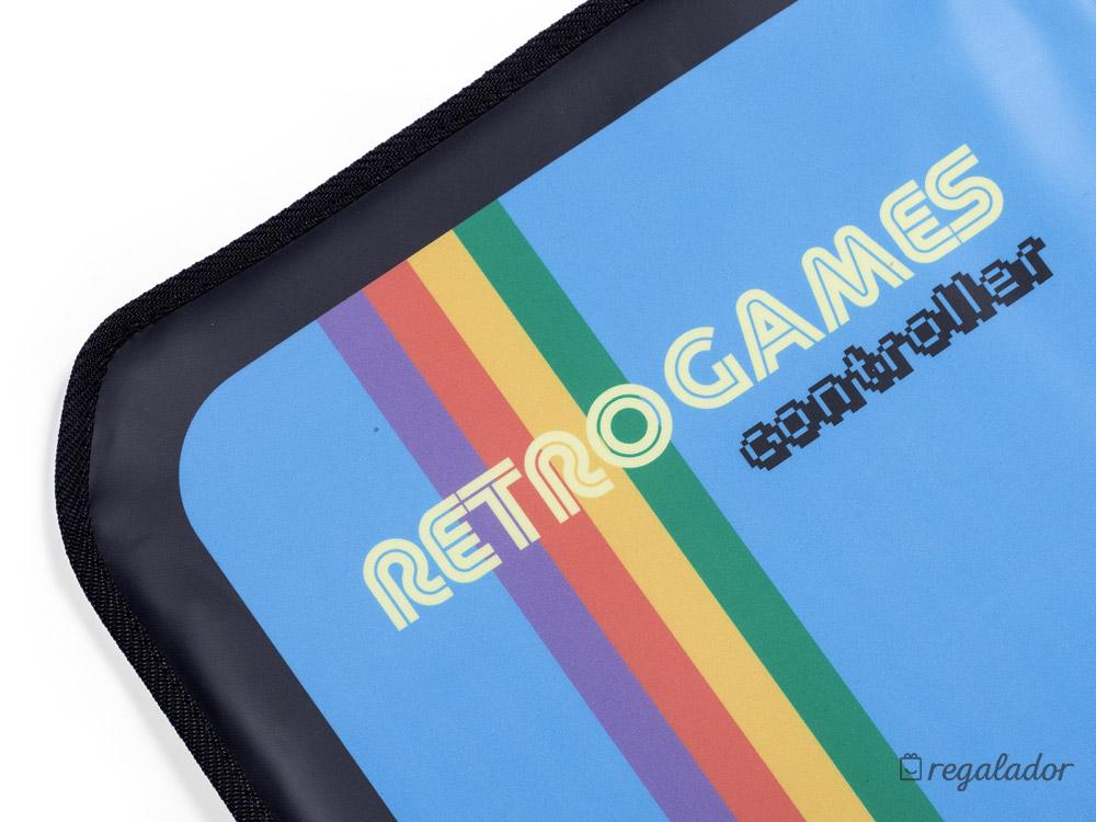 Alfombra para videojuegos retro