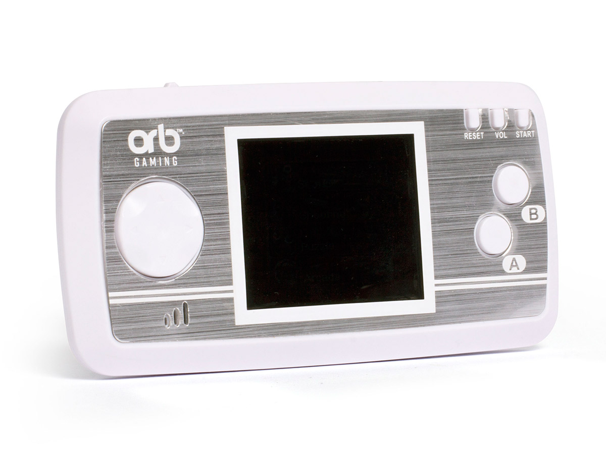 Videoconsola de bolsillo con juegos retro