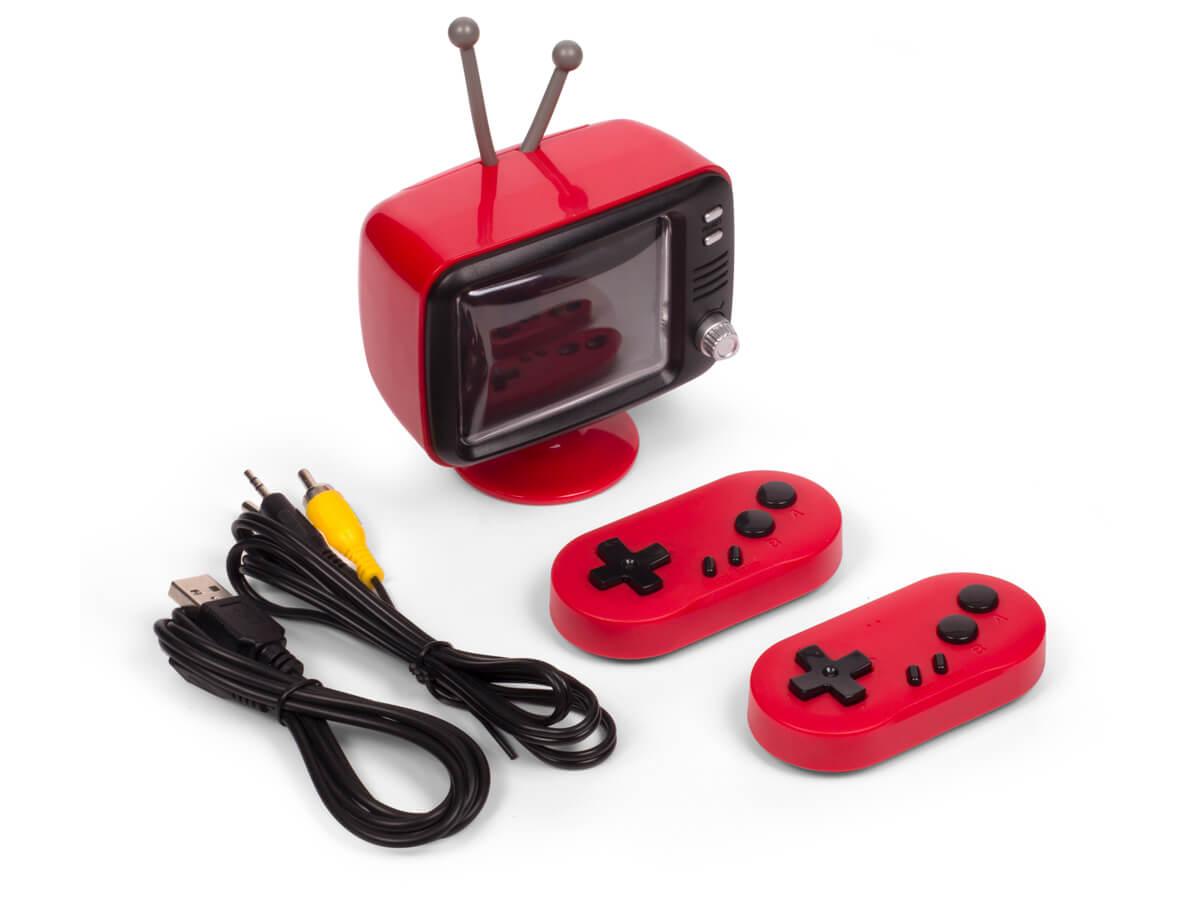 Mini TV retro consola