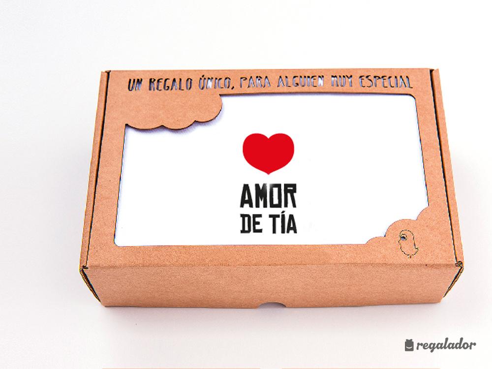 """Pack de ropita de bebé """"❤ Amor de tía"""" en Regalador.com"""