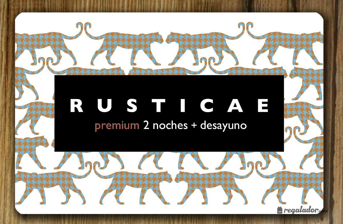 Escapada Premium de Rusticae