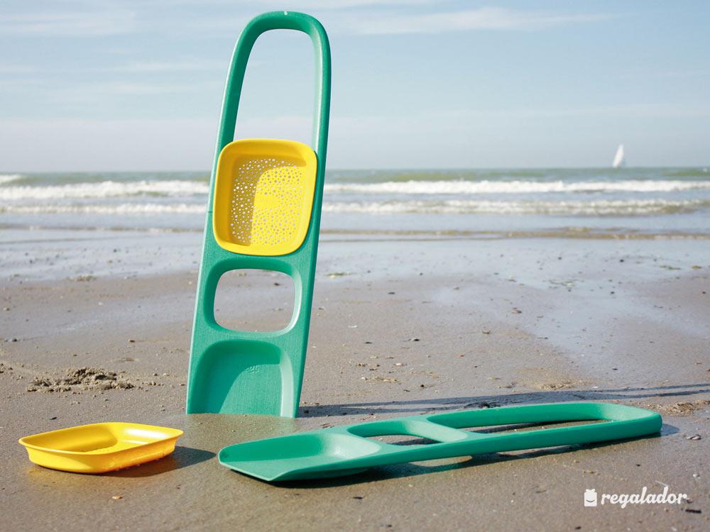 La súper pala para la playa: Scoppi