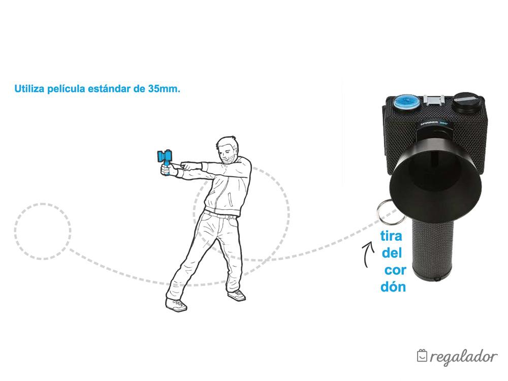 Cámara de fotos Spinner 360° de Lomography