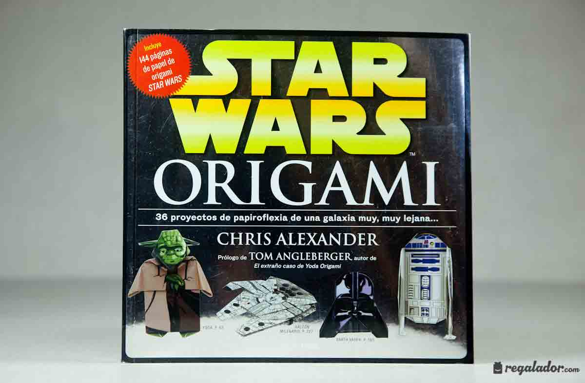 "Libro ""Star Wars Origami"" para crear figuras en papel en ... - photo#30"