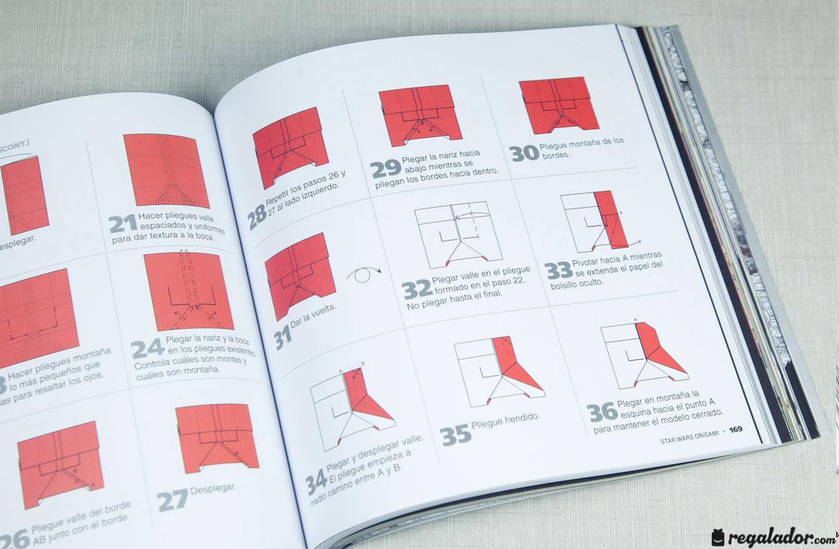 """Libro """"Star Wars Origami"""" para crear figuras en papel en ... - photo#5"""