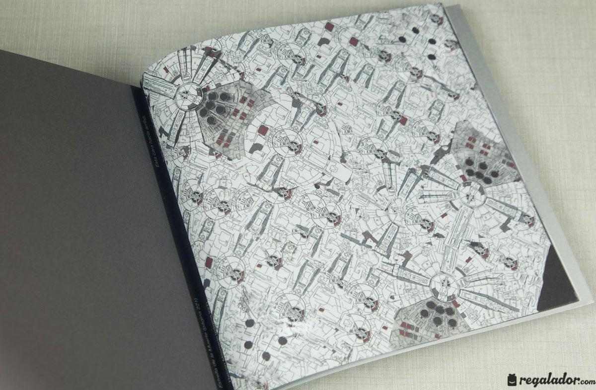 """Libro """"Star Wars Origami"""" para crear figuras en papel"""