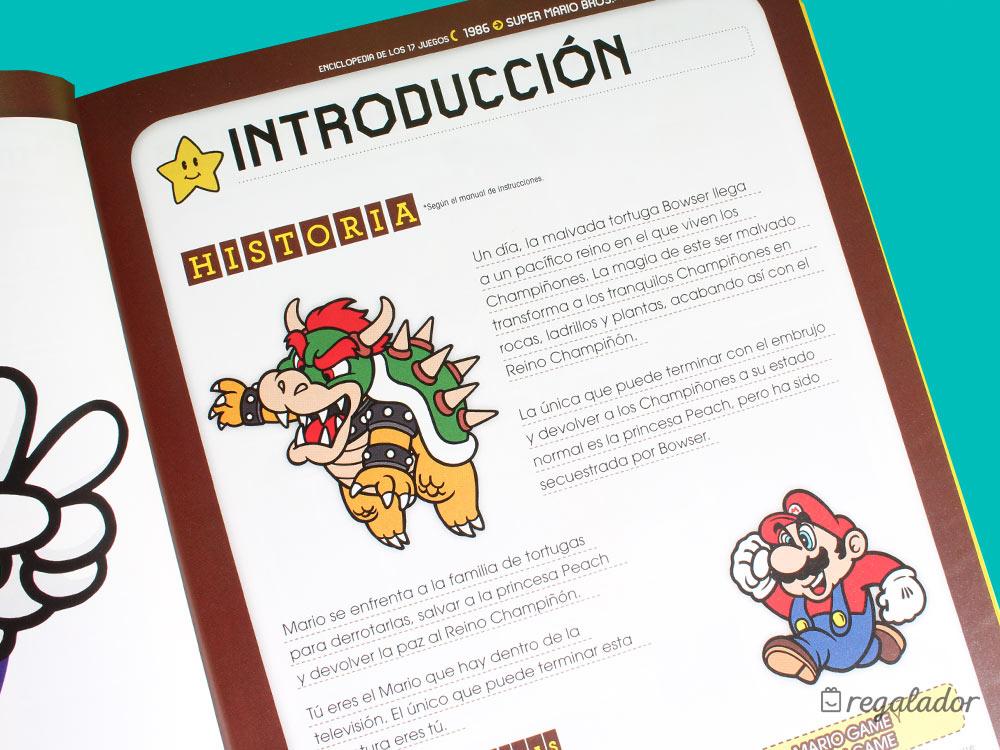 Enciclopedia Super Mario Bros 30ª Aniversario en Regalador.com