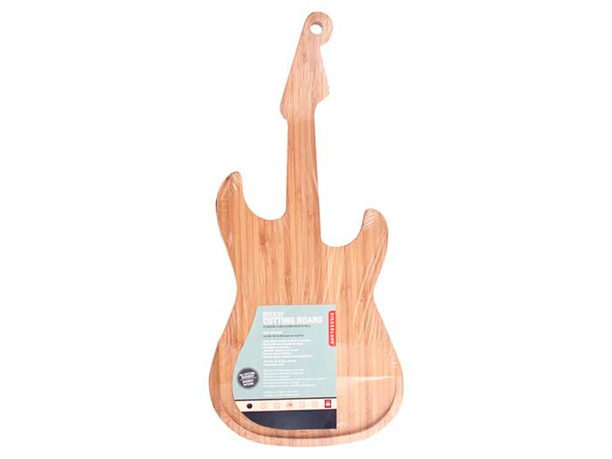 La tabla de madera más rockera
