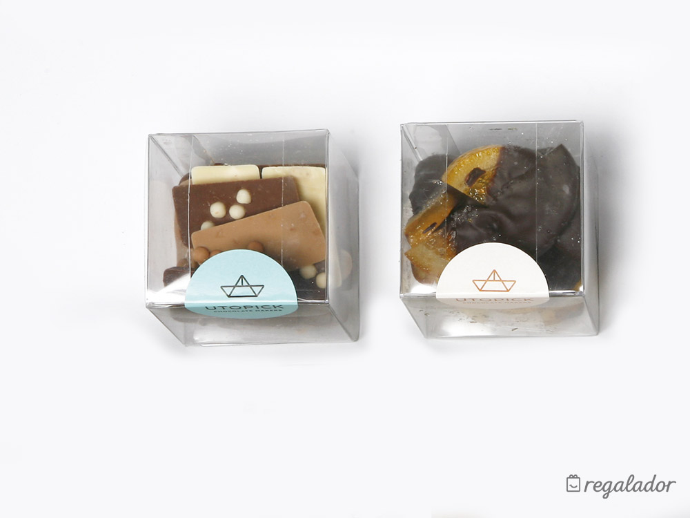 Packs de chocolate gourmet para enamorados