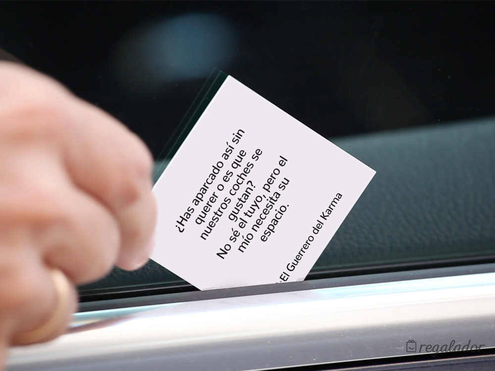 Tarjetas para Guerreros del Karma