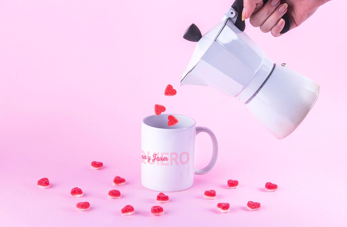 Taza personalizable «Te quiero»