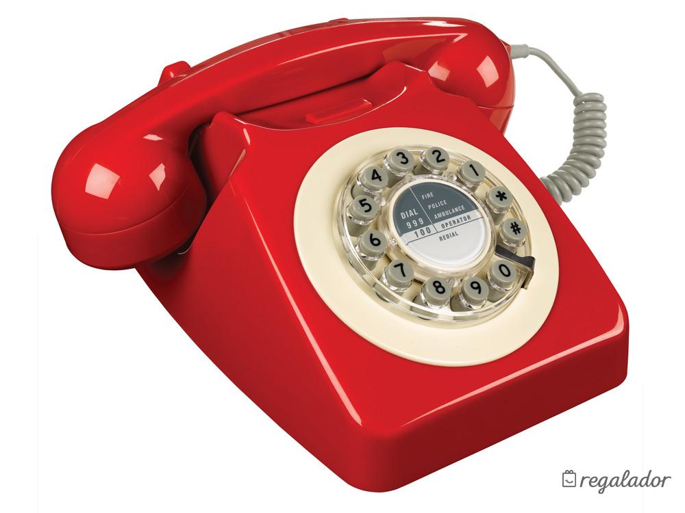 Icónicos teléfonos para decorar con estilo retro