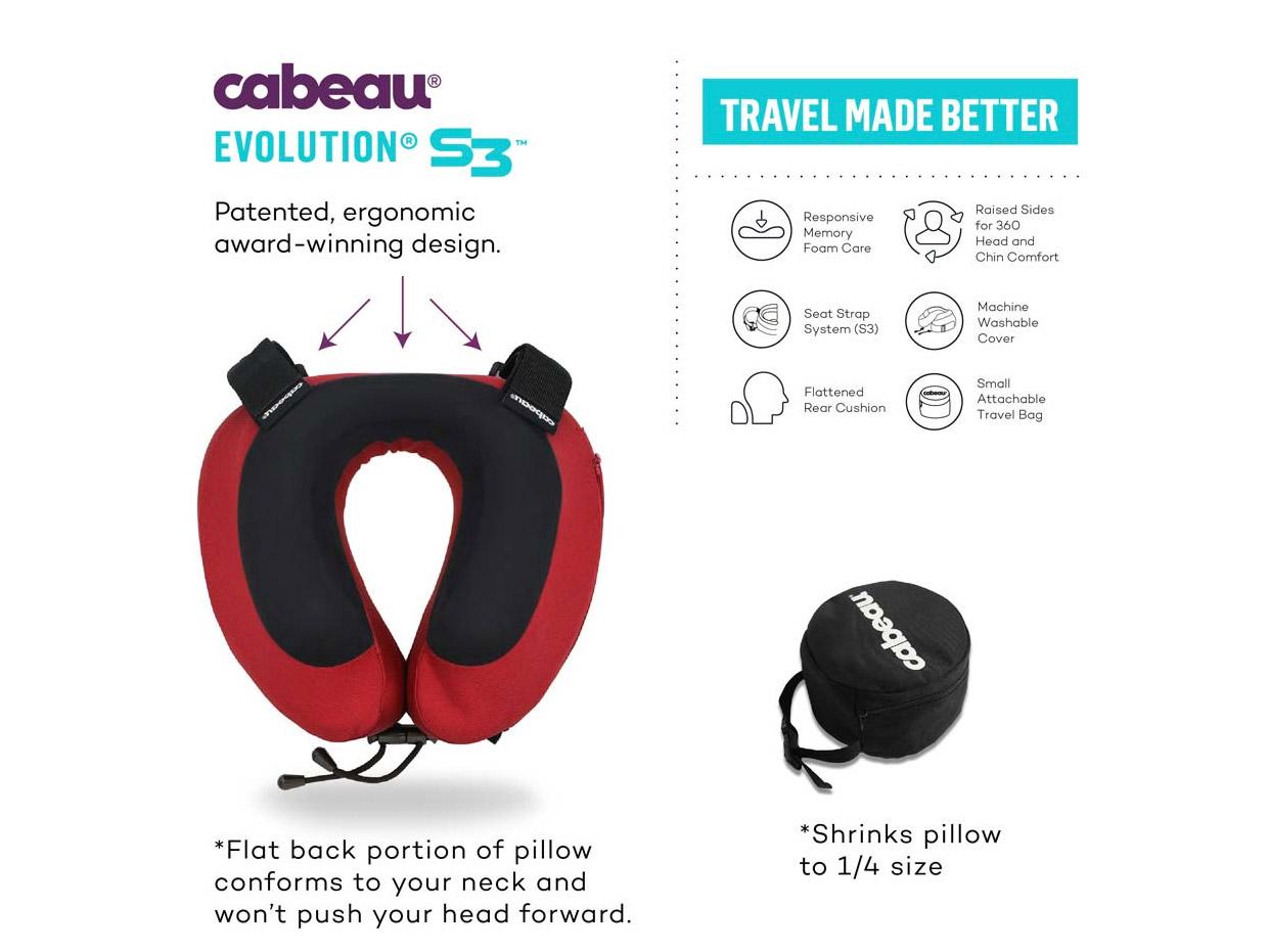 La almohada de viaje más cómoda del mundo