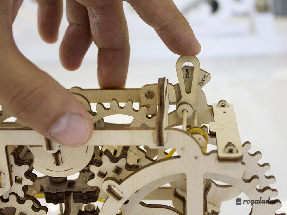 Vehículos de madera para construir tú mismo