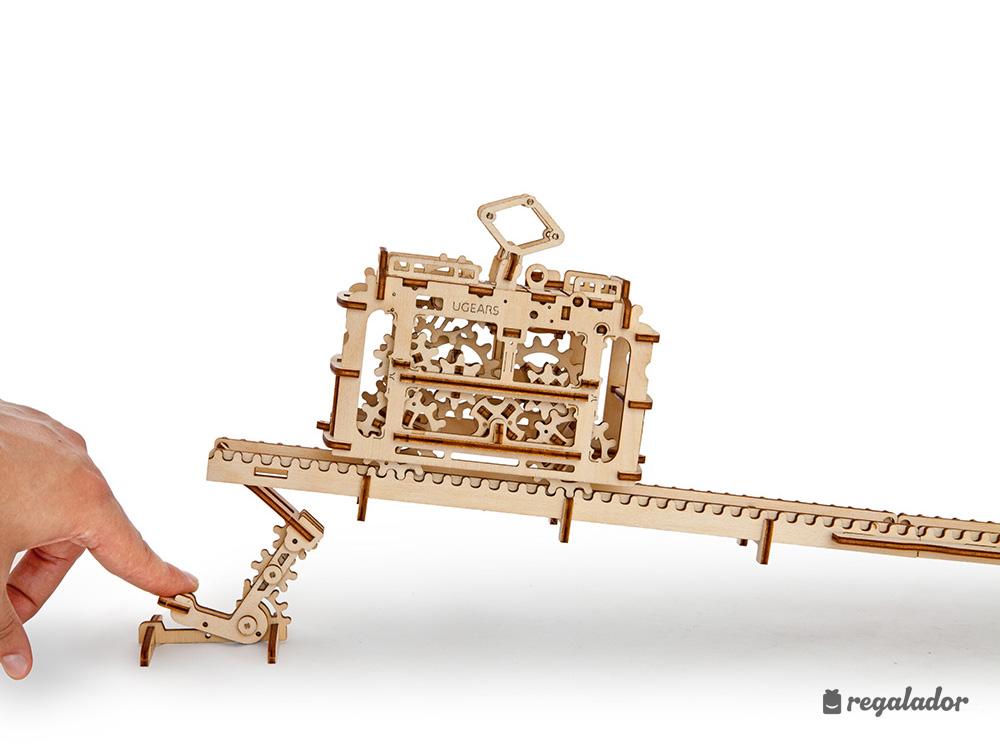 Vehículos de madera para construir tú mismo en Regalador.com
