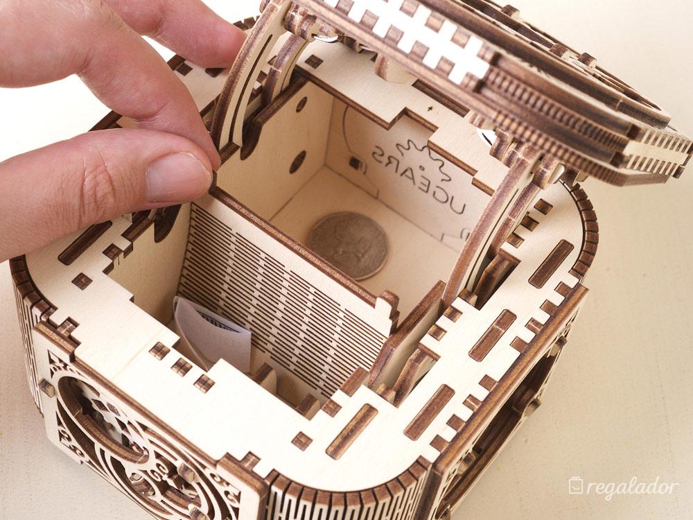 Cajas secretas de madera que construyes tú mismo en Regalador.com