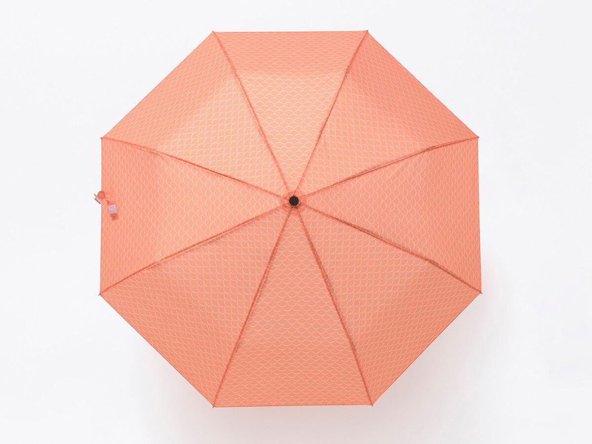 Paraguas plegable con forma de pez KOI