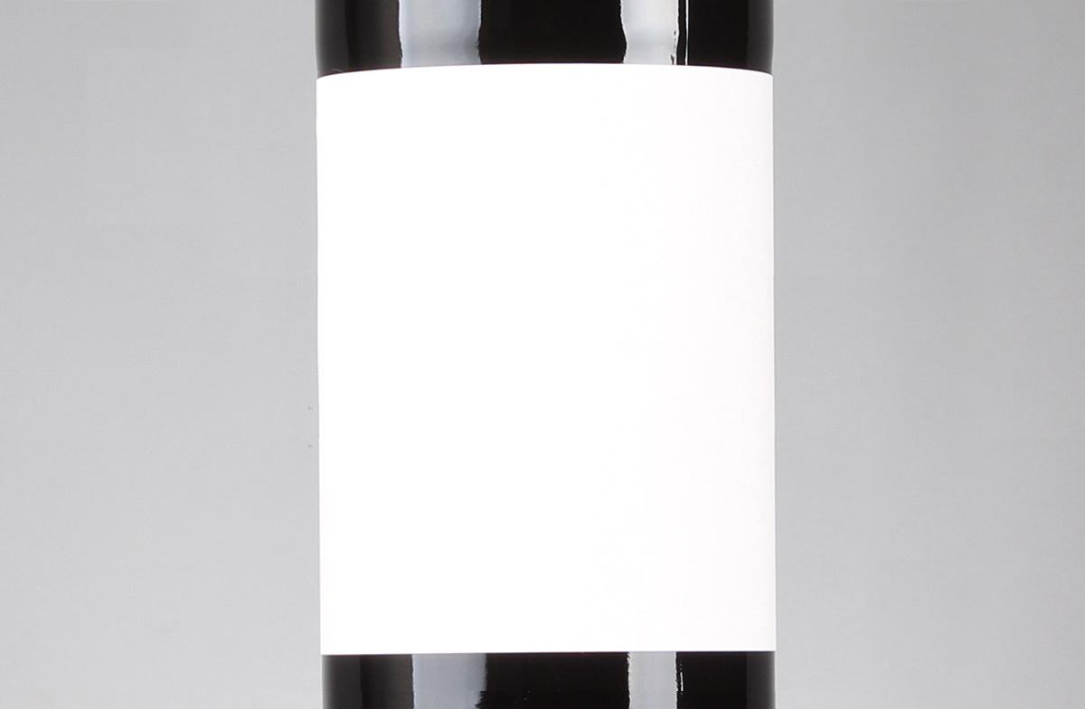 Vino tinto personalizado diseño Racimo de uvas