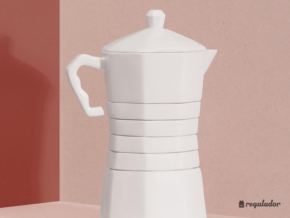 Set de tazas de café \'Withcoffee\' en Regalador.com