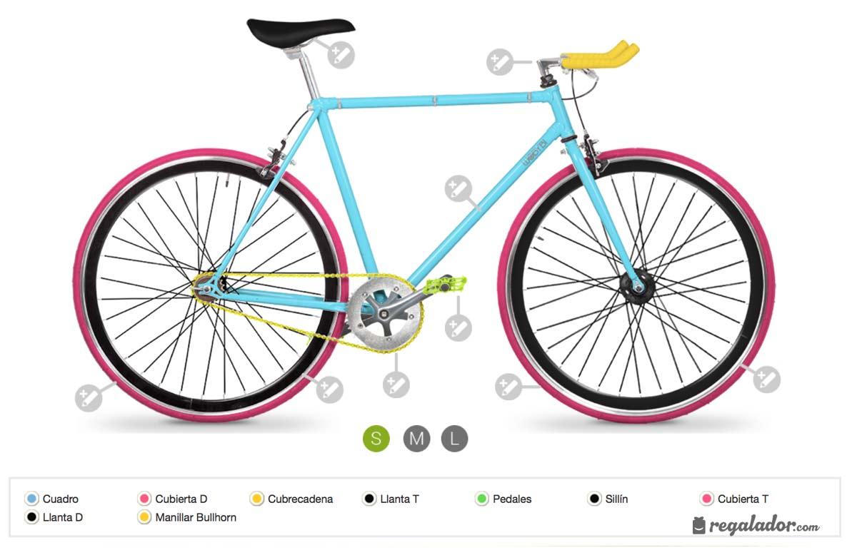 Bicicletas personalizadas por ti mismo en Regalador.com