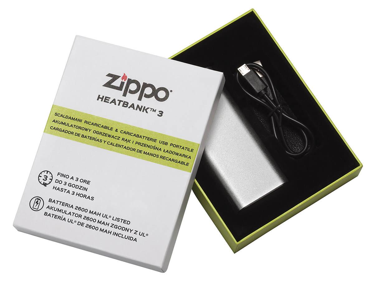El calienta manos eléctrico de ZIPPO