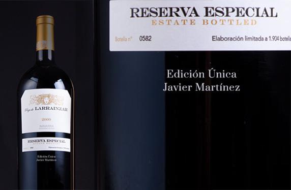 Magnum Pago de Larrainzar Reserva Especial 2009 personalizado