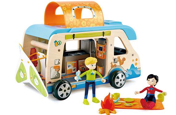 Aventura en caravana: kit de juego simbólico
