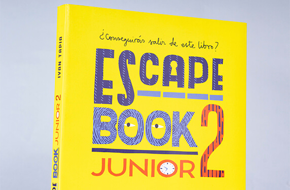 Libro Escape Book Junior 2